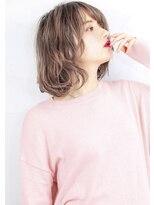 ヘアサロンガリカアオヤマ(hair salon Gallica aoyama)☆ ホワイティーグレージュ & 毛束感 ☆小顔ボブ☆タンバルモリ