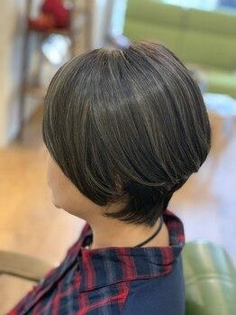センカンドハウス(hair studio 2nd House)の写真/白髪抑制や育毛促進にも効果的なカラー剤を使用◎髪/頭皮/肌にも優しいから安心してカラーを楽しめます♪