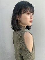 【GARDEN武田美奈】秋のシンプルストレートロブ