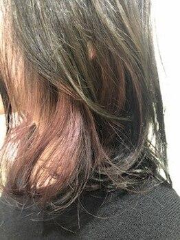 サンコ(sanco.)の写真/オシャレに綺麗にしていたい!でも最近白髪が出てきた…そんなあなたに合うカラーをオリジナルで作ります♪