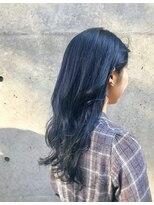 ホワイト 梅田(white)青髪ブルーカラー