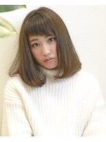 ヘアーデザイン アコースティック(Hair Design ACOUSTIC)Aライン ロブ