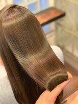 ミンクス 青山店(MINX)ダメージレスカラー 髪質改善  美髪 ツヤ髪