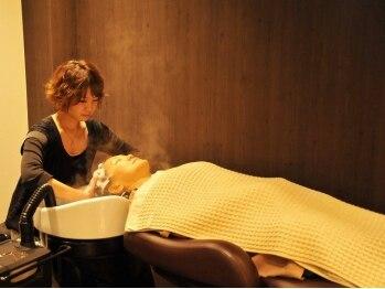 キャロットスイ(Carrot sui)の写真/話題の夢シャン★フルフラットのSPAで髪も心も癒されて♪【極上ヒーリングミストスパ¥6050】