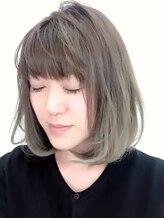 ヘアストーリー レオ(Hair Story RE:O)外国人風カラー☆流行りのグレージュ&グラデーションカラー