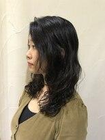 オブヘアー 鷺沼店(Of HAIR)#ロングレイヤーパーマスタイル
