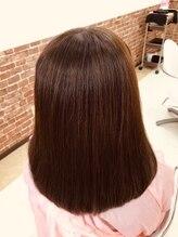カットハウス はさみの部屋美髪☆髪質改善☆ふんわり自然なストレート