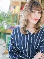 ★外国人風ハイトーンカラーxシースルー前髪10代20代30代★7