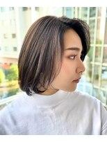 ウノプリール 西梅田ハービスプラザ店(uno pulir)【KEN YODA】大人かわいい小顔ボブ30代40代20代
