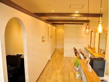ラヴィアン(La vien)の写真/南フランスの小さなお家のような美容室◇本質にこだわる貴方に…<草加駅東口徒歩3分>