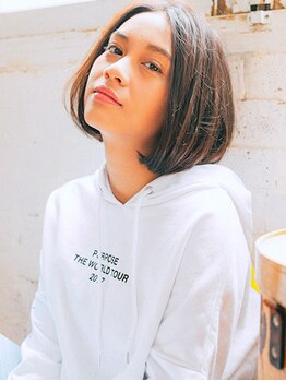 美容室 モンクール 亀戸店(Mon Coeur)の写真/初めての白髪染めは 『イルミナ シャドゥ』 で決まり☆ハリ・コシ・つやを叶えていつまでも若々しく。