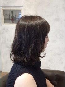 ボヌールヘア(BONHEUR HAIR)ボヌールヘアー 綾瀬【岡部 賢悟】ゆるふわミディ