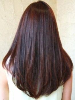 オークス(Ark's)の写真/【生涯美髪トリ-トメント¥2160~】お客様の髪の状態に合わせて組み合わせるオ-ダーメイドトリ-トメント☆