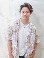 オーブ ヘアー バンダイ 新潟2号店(AUBE HAIR bandai)【AUBE HAIR】ワイルドかき上げヘア