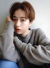 ラフィスヘアー シャルム 渋谷店(La fith hair charme)【La fith】 センターパート×ショートマッシュ
