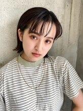ソワリー 栄(THOiRY)〈THOiRY YUKI〉大人かわいい小顔耳かけコンパクトショートボブ