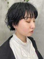 テトヘアー(teto hair)伸ばしかけウルフ プチウルフ