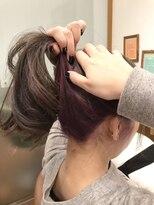 テトラ ヘアー(TETRA hair)インナーカラーピンクバイオレット