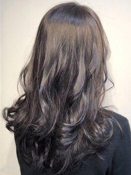 ヘアークリアー 春日部の写真/透明感たっぷりな外国人風カラーやグラデーションが可愛い!髪質やお悩みに合わせて理想のヘアカラーに!