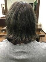 アールピクシー(Hair Work's r.Pixy)スモーキートパーズ×ミディアムボブ