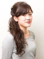 ヘアーメイク リアン 新田辺店(Hair Make REAN)ルーズハーフアップ
