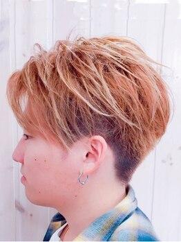 ジア ヘアグリージア(ZIA-hair Grigia-)の写真/【Men's cut¥3300】再現性バッチリ◎クセなどもしっかり見極めてカット!自宅でも楽々セットが叶う◆