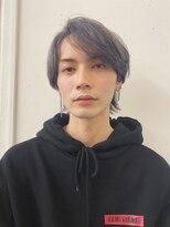 マグノリア オモテサンドウ(MAGNOLiA Omotesando)シルバーカラーのソフトマッシュウルフ・・YOSHIBA