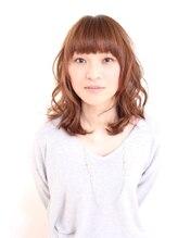 ケースワーク(CASE WORK)前髪あり☆大人可愛いミディアムヘア