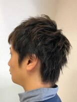 アルファ ヘアー デザイン(alpha hair design)メンズ ショート