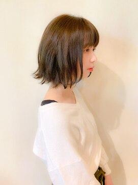 ミンクス 銀座店(MINX)【MINX銀座】蛭田佑介「外ハネミディ」