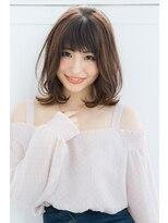 リル ヘアーデザイン(Rire hair design)【Rire-リル銀座-】小顔にみえる♪エアリーミディ☆