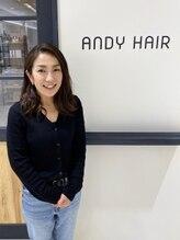 アンディヘア アオキジマ(ANDY HAIR aokijima)池田 彩可