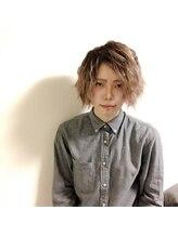 オーブ ヘアー リノ 京都2号店(AUBE hair lino)信 長