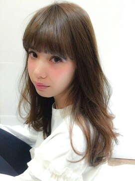 ブルックリンヘアー(BROOKLYN HAIR)アディクシーカラー 艶髪 ナチュラルスタイル