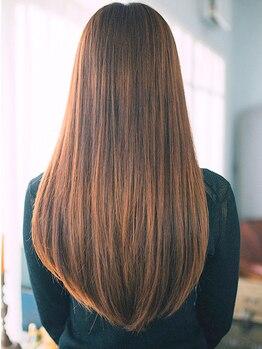 美容室 モンクール 亀戸店(Mon Coeur)の写真/『自分の髪じゃないみたい!』 1人1人のくせに合わせて、こだわりの薬剤を厳選!ツヤツヤの美髪へ☆