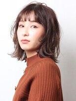 ピークアブー アヴェダ 池袋東武(PEEK-A-BOO AVEDA)透け感前髪が◎大人かわいい「外ハネボブ」