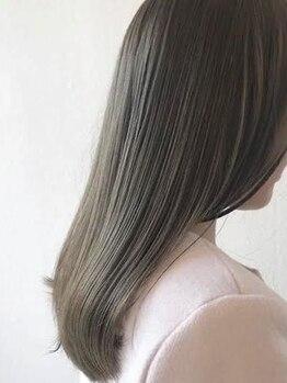 ヘアー キュート(hair CUtE)の写真/【10分で最大6週間持続の髪質改善ダイヤモンドリペア】【内部補修で根本から髪質改善リケラエマルジョン】