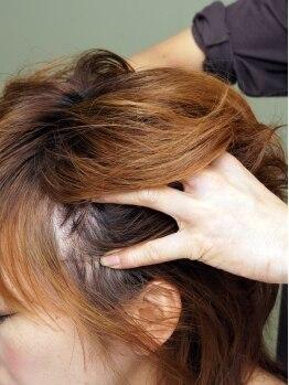 エブヘア(Eb hair)の写真/肌質別に選ぶオイル・好みの香りをセレクト…スパのみで来店をするゲストもいる程に支持される満足MENU★