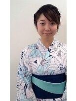 横濱ハイカラ美容院(haikara美容院)ゆかた着付けとヘアセット