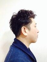 ポッシュ 門前仲町(HAIR&MAKE POSH)Men'sスタイル(男のセクシーさ漂うパーマスタイル)
