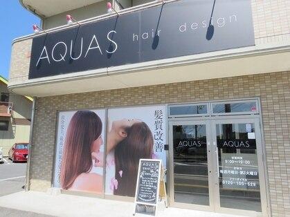 アクアスヘアーデザイン 廿日市店(AQUAS hair design)の写真