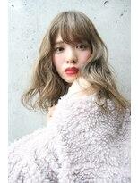 フェス カットアンドカラーズ(FESS cut&colors)ブリーチからの褪色シルバーアッシュ【福岡美容室FESS】