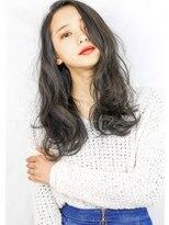 ヘアサロン ガリカ 表参道(hair salon Gallica)☆グレージュ&ダメージレスパーマ☆外国人風ひし形シルエット☆