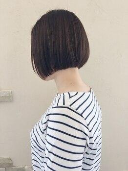 """ヴァルチェティリ(valucetiri)の写真/《簡単×時短セット◎》カット技術が高い""""valucetiri""""だからこそ出来るデザインをあなたの髪にも♪"""