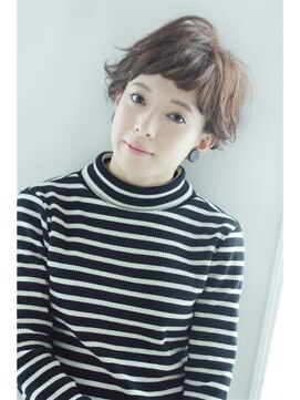 モッズ ヘア 京都店(mod's hair)【LYNN 2000 S/S】柔らかニュアンスショート