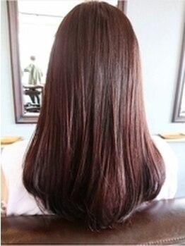 スプーン(SPOON)の写真/話題の髪質改善【サイエンスアクア】取扱い店★くせ毛や広がりを抑えてまとまりやすいので朝のセットが楽♪