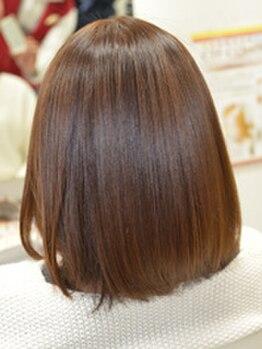 ウィズ(Hair Cut Wiz)の写真/髪を傷めない次世代縮毛矯正『クセストパー』!シルクのような手触り♪クセ毛悩みのレスキューメニュー★