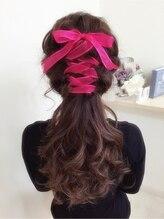 ヘアーセットサロン ピンキー(Hairset Salon Pinky)pinky☆編み上げおリボン