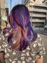 Men's Colorful Hair
