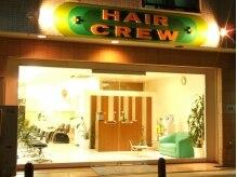 ヘアクルー(HAIR CREW)の雰囲気(カワイイ看板が目じるしの【HAIR CREW】☆)